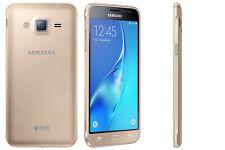 BRAND NEW SAMSUNG GALAXY J3 6 DUAL SIM *4G LTE* 8GB SMART PHONE GOLD UNLOCK 2016