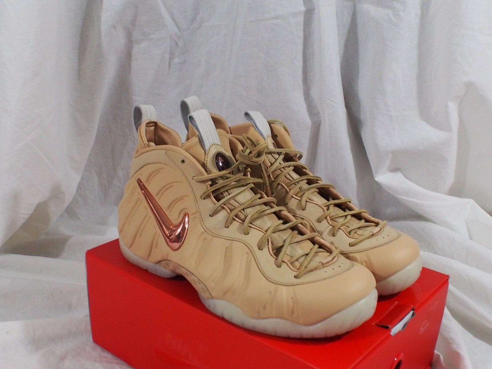 Nike Air Foamposite Pro Premium AS QS Vachetta Tan / Gold 920377-200