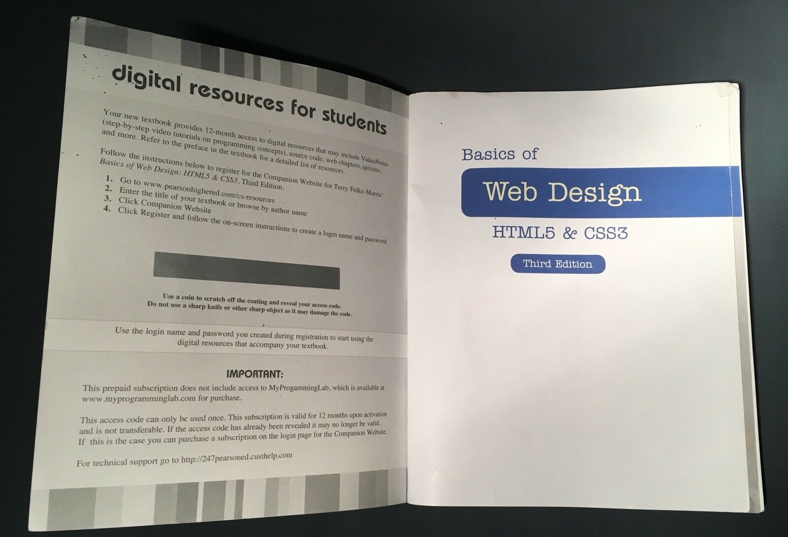 Basics Of Web Design Html5 And Css3 By Terry Felke Morris 2015 Paperback