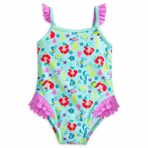 DISNEY STORE LITTLE MERMAID ARIEL SWIMSUIT FOR BABY ARIEL /& FOUNDER CUTE NWT