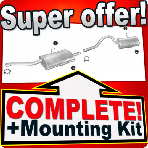 Renault Espace 3 III 2.0 16V SWB 1998-2002 Silencer Exhaust System 657