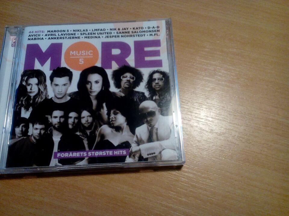 Diverse: More music 5. 2cd' er, andet