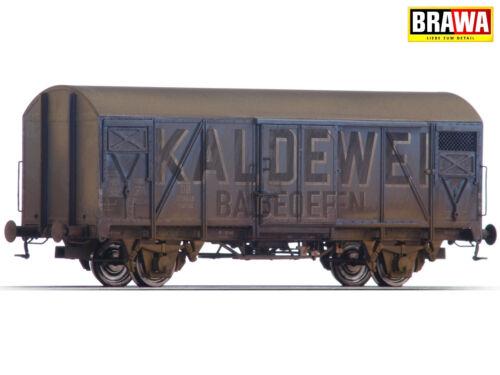 """+ NUOVO /& OVP + BRAWA 48824 h0 carro merci GMS 54 /""""Kaldewei/"""" delle DB INVECCHIATA"""
