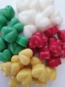 10-Sample-Size-Heart-Highly-Scented-Aromatherapy-Wax-Melts-Various-Fragrances