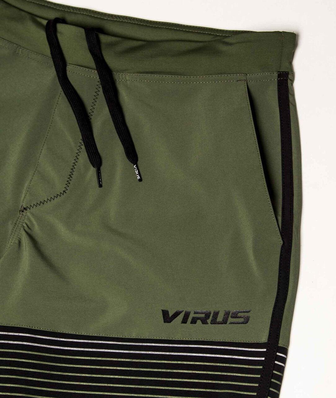 VIRUS (ST5) Herren VELOCITY SHORT (ST5) VIRUS OLIVE Grün CrossFit WeightLifting 02aceb