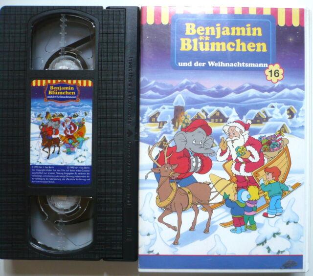 BENJAMIN BLÜMCHEN 16 - Benjamin Blümchen und der Weihnachtsmann  - VHS