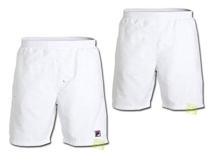 Fila Men's Tennis Shorts Trainings Pants Sport Pants Santo White
