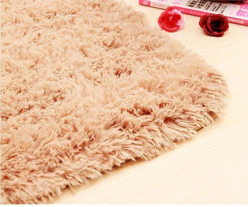 En Mousse Souple Shaggy tapis antidérapant Chambre Tapis de salle de bain Douche Tapis R020