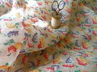 Antique Lilacs Floral Gauzey Breezy Crepe Cotton Fabric ~ dolls blouse projects