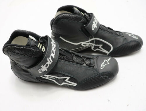 ALPINESTARS Tech 1-Z Racing SHOES Mens Drivers Shoes ANTHRACITE  SFI 3.3//5 NEW