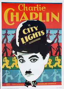 city lights 1931�charlie chaplin�20x28 poster�portal