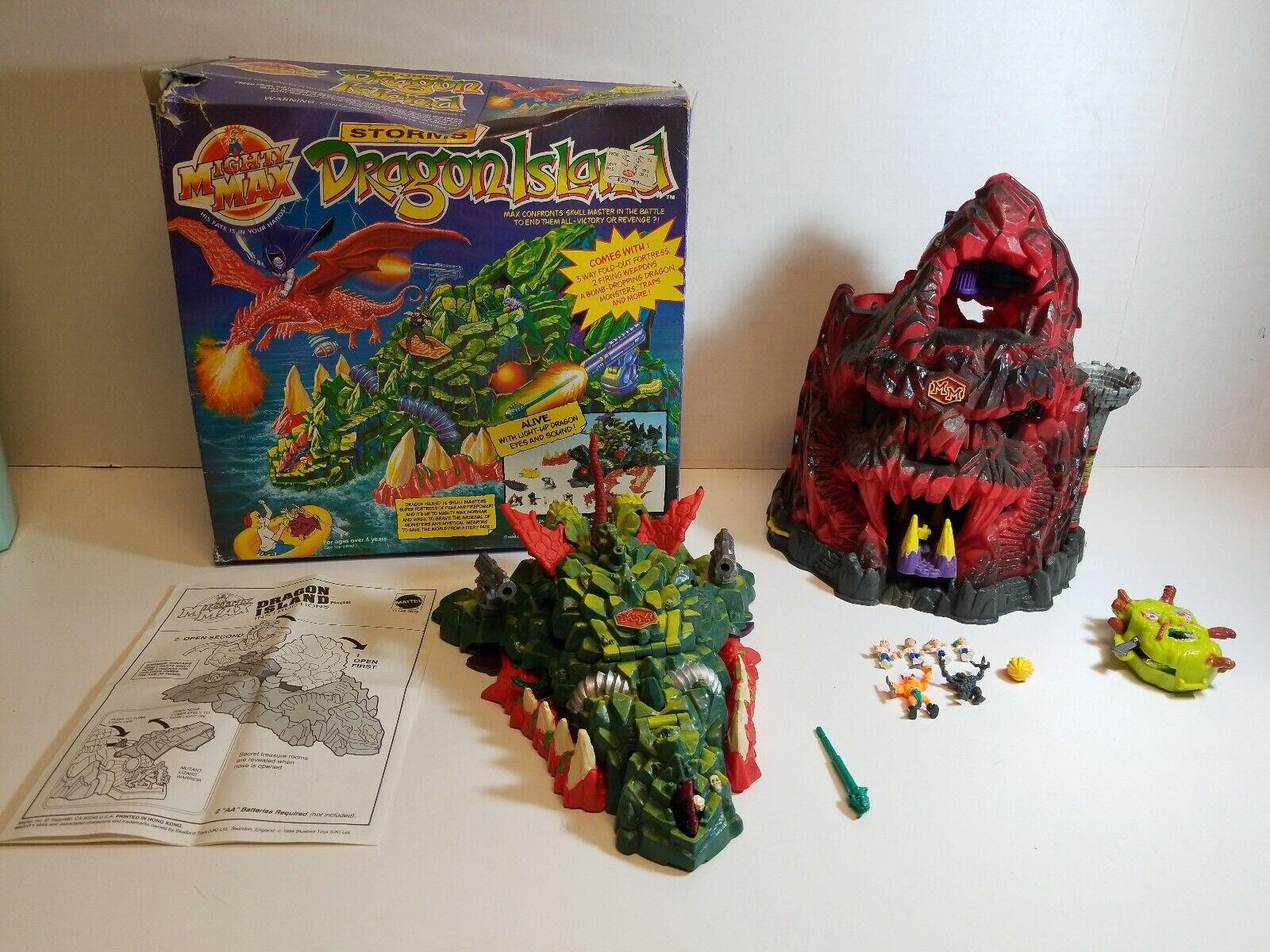 1994 Blaubird Toys - Huge Mighty Max Lot