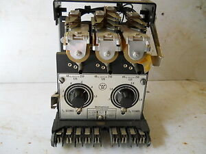 WESTINGHOUSE TIME DELAY RELAY TYPE TD-4 644B301A USED 1 UNIT