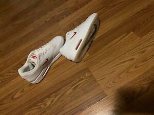 Nike Air Max 1 Premium SC White University Red