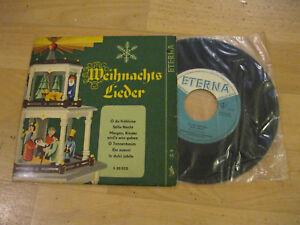 Ddr Weihnachtslieder Texte.Details Zu 7 Single Weihnachtslieder Stille Nacht Helmut Koch Eterna Ddr 5 20 032 Vinyl