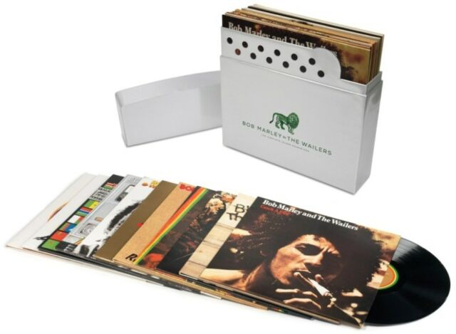 BOB MARLEY AND THE WAILERS COMPLETE ISLAND RECORDINGS 180 G.Vinyl 12 LP,11albums