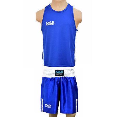 Boxing Kit Punch Training Vest MMA Martial Arts Kick Fight Gym Shorts Muay Thai