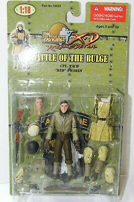 Phares Ultimate Soldier 1:18 Battle of The Bulge CPL Zack Red