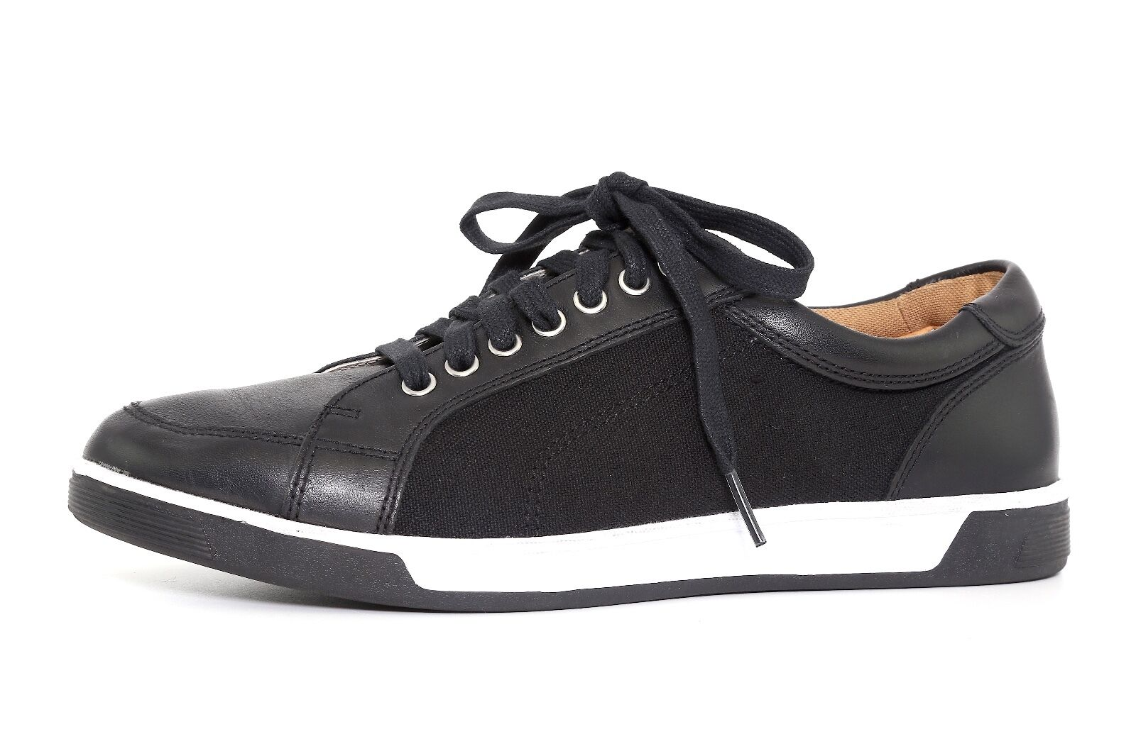 Cole Haan Men's Black Leather Vartan Sport Oxford Sneakers 1051 Sz 8 M