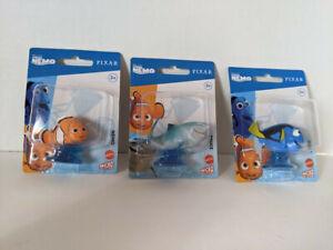 Disney Pixar Finding Nemo Micro Collection Set of 3 - Nemo/Bruce/Dory - NEW!!