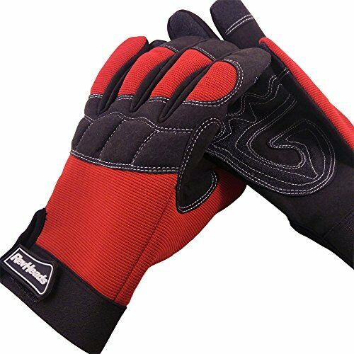 Mechanic Gloves For Working On Cars - Work Safety Gloves Protect Fingers And XL