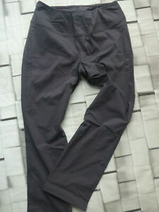 Sheego-Pull-on-Trousers-Grey-Ladies-Size-52-plus-Size-396