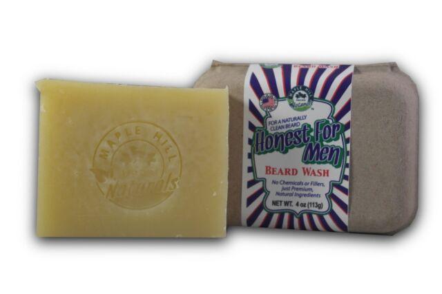 Maple Hill Naturals: Honest for Men Original Scent Beard Wash Shampoo and