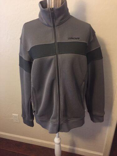 SPYDER Foremost Men's Grey Jacket Size Medium-Exce