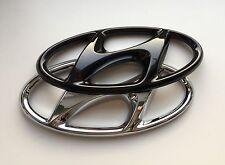 Hyundai Tucson TL TLE Badge Cover highgloss Black Emblem Cover hochglanz schwarz