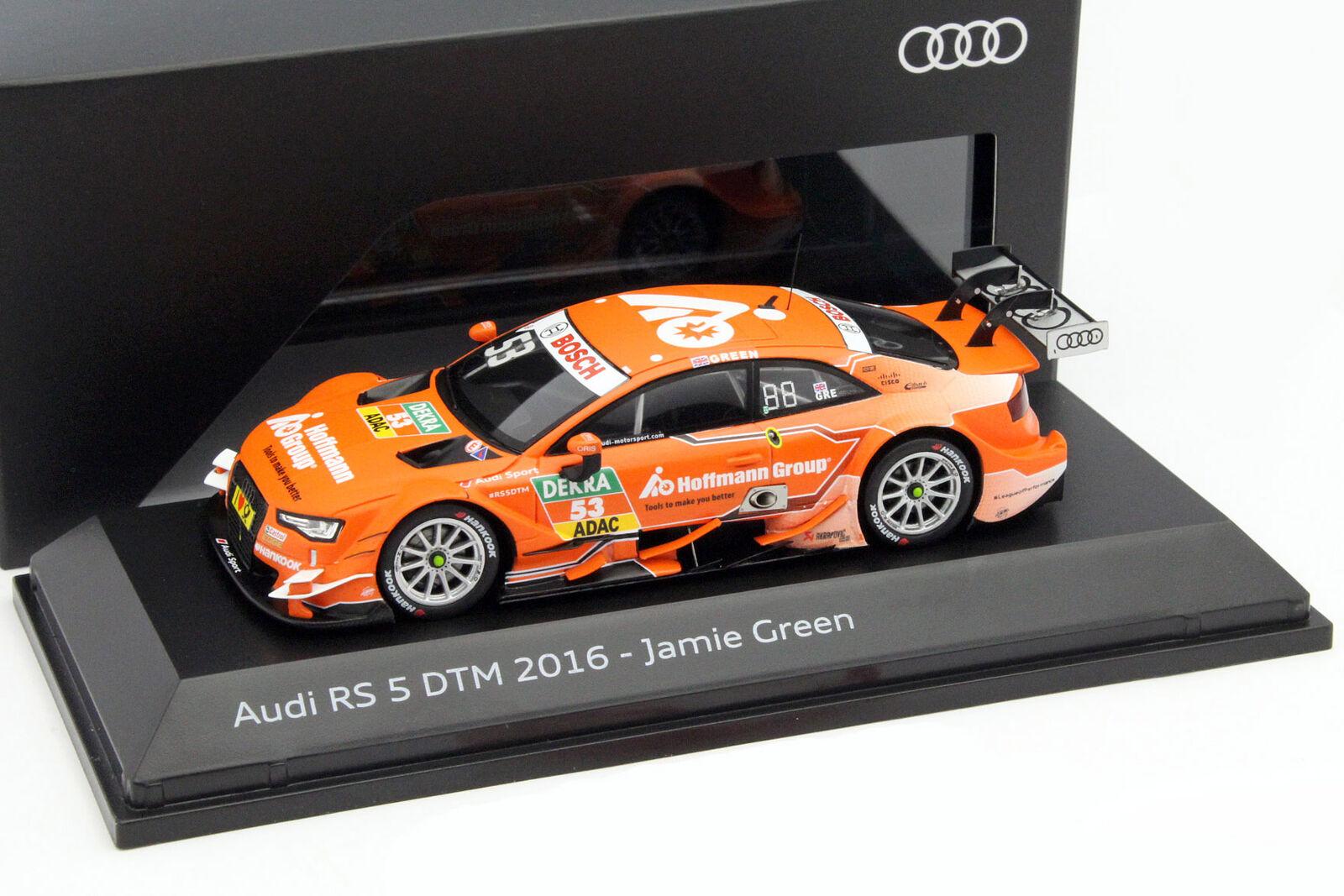Jamie vert Audi RS5  53 DTM 2016 Audi Sport Équipe Rosberg 1 43 Spark