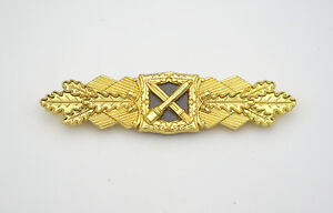 GERMAN-ARMY-WW2-1957-Issue-German-Close-Combat-Clasp-in-Gold