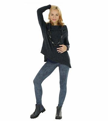 yeset Umstandsjeans Jeans Umstand Hose Jeanshose lang Stretch Bauch Schwanger