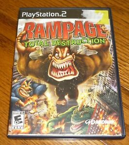 Ps2 Rampage Total Destruction Video Game Playstation 2 Used Guaranteed 31719269464 Ebay