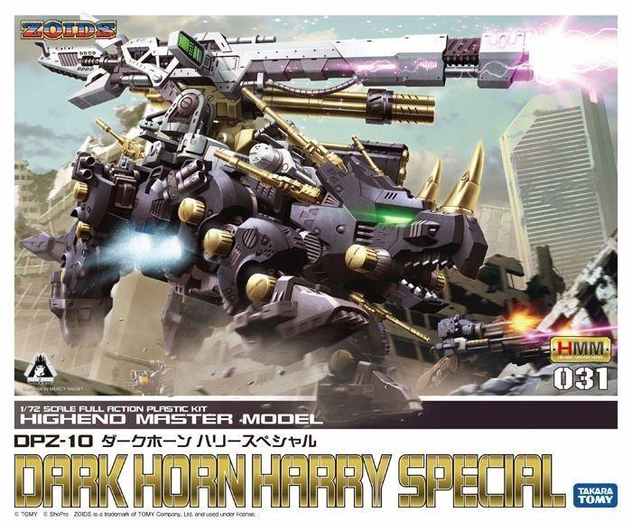 Kotobukiya Zoids Hmm 031 DPZ-010 Oscuro Bocina Harry Especial 1 72