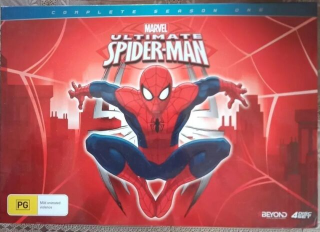 Ultimate Spider-Man : Season 1 (DVD, 2014, 4-Disc Set) Collectors Edition BNIP