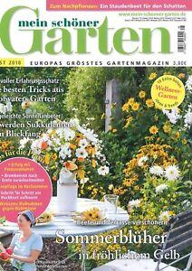 Details zu mein schöner Garten, Heft August 8/2018: Sommerblüher +++ wie  neu +++