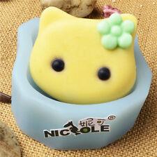 Nicole Flexible Easy Unmold Cat Design Silicone Soap Crafts Molds DIY Soap Mould