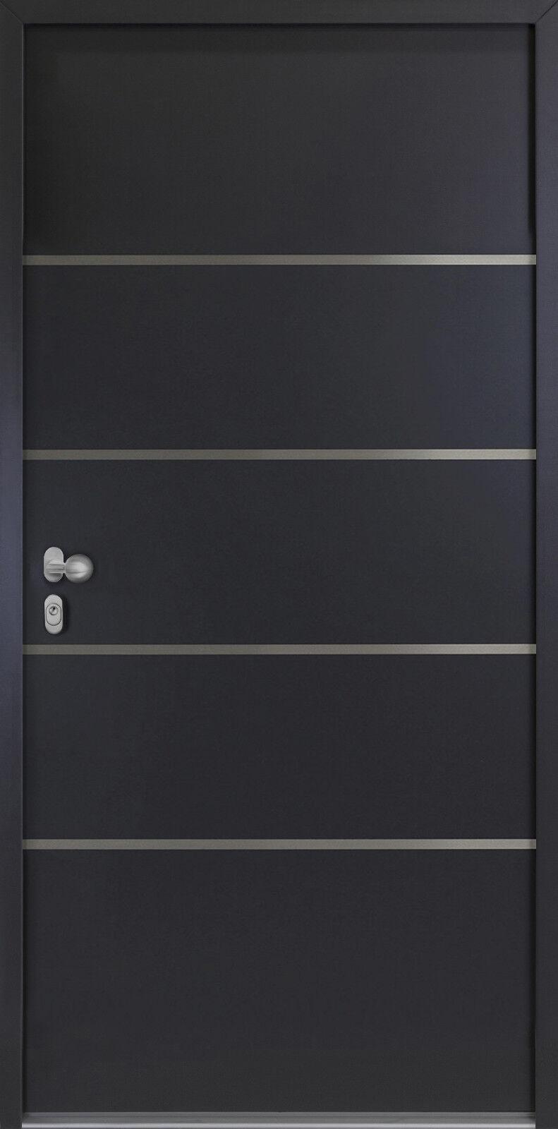 Hausür-Kellertür--Nebeneingangstür 56mm AKTION NBT02 - Ausstellung Moers