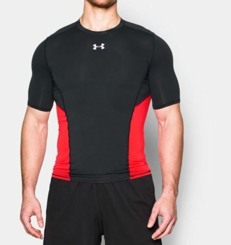 Under Armour Men/'s UA CoolSwitch Short Sleeve Compression Shirt New