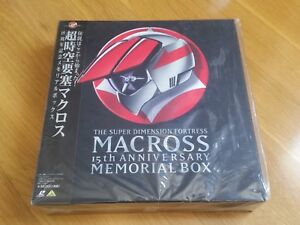 NEW-LD-Box-Laserdisc-Macross-Anniversary-Memorial-15th-anime-manga-laser-disc-JP