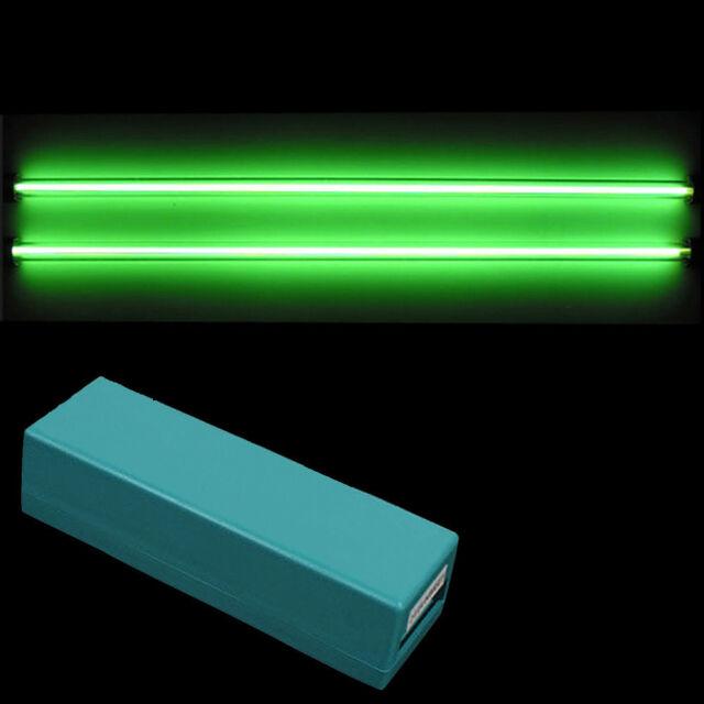 2 Piece Car Green Undercar Underbody Neon Kit Lights CCFL Cold Cathode 12