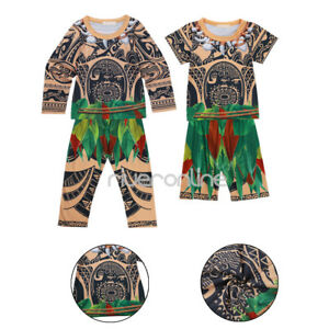 Maui-Boys-Pajamas-Set-Kids-Toddler-Sleepwear-Clothes-Cartoon-Costume-Nightwear
