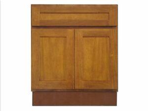 Details About 24 Bathroom Vanity 24 Inch Cabinet Honey Oak