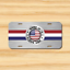 Made in USA US American Flag America Vehicle License Plate Front Auto Tag NEW