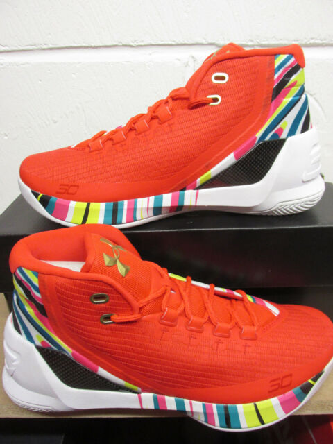 3e84a39b9729 Under Armour UA Curry 3 Mens Hi Top Basketball Trainers 1269279 984 Sneakers
