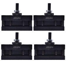 New 4pcs Bxa 2 Quick Change Turning Facing Amp Boring Tool Post Holder 250 202 Us