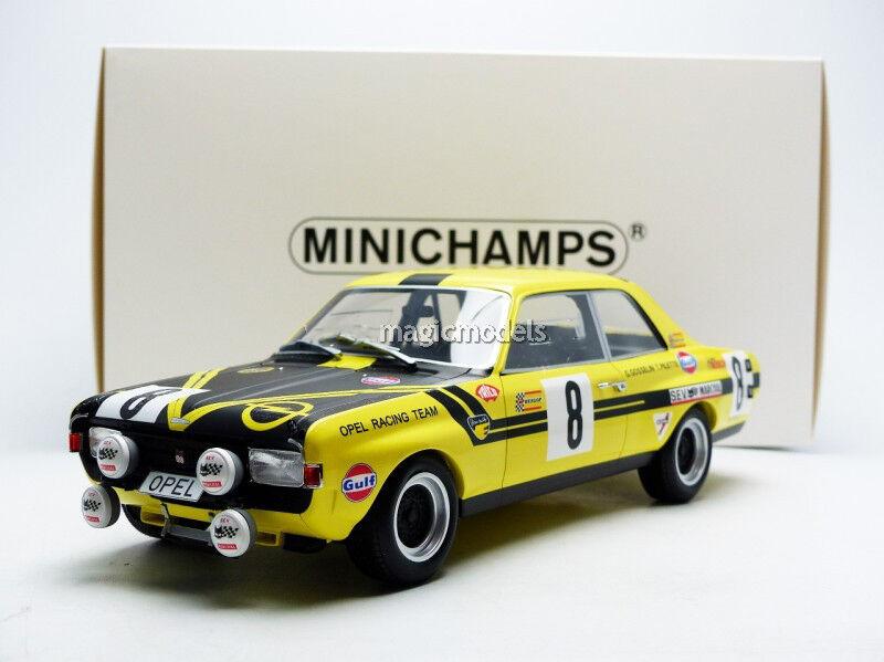 Minichamps Opel Commodore A  8 24h Spa 1970 Pilette Gosselin 1 18 Échelle Neuf