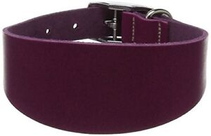 BBD-Pet-Products-Whippet-Leather-Collar-Boysenberry