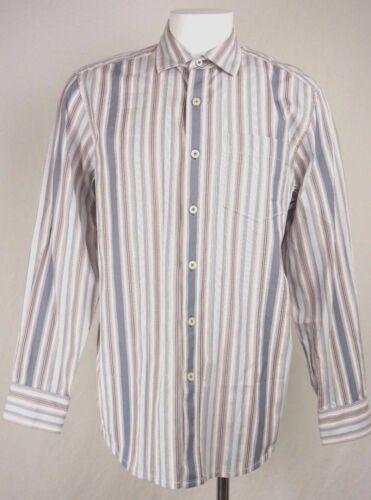 katoenen lange button M maat mouw shirt Medium Nwt Bahama Heren up gestreepte Tommy 8OnkX0wP