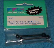 Vintage RC Mugen Seiki T0247 front drive shaft (for universal) MTX3 Rare